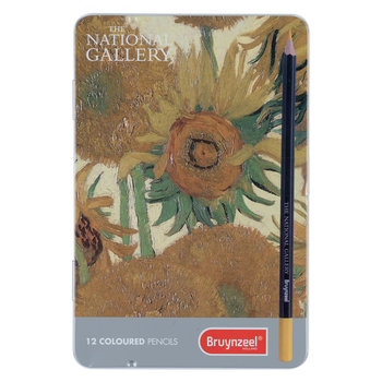 BRUYNZEEL Crayons de couleur Nation Gallery Set 12 crayons BRUYNZEEL - Van Gogh