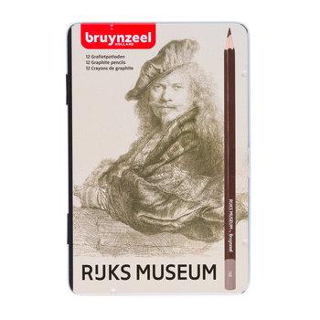 "BRUYNZEEL Crayon ""Rijks Museum"" set de 12 pièces, 2H à 9B  BRUYNZEEL"
