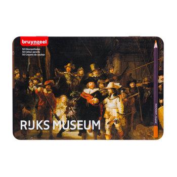 BRUYNZEEL Coffret métal 50 crayons de couleurs BRUYNZEEL - Rembrandt