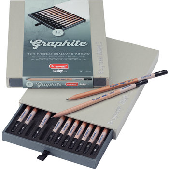 "BRUYNZEEL Crayon ""Design"" set de 12 pièces BRUYNZEEL"