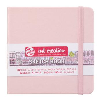 TALENSARTCREATION Sketchbook Pastel 12x12cm 140g 80 feuilles rose pâle