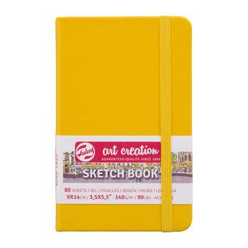 TALENSARTCREATION Sketchbook Pastel 9x14cm 140g 80 feuilles jaune d'or