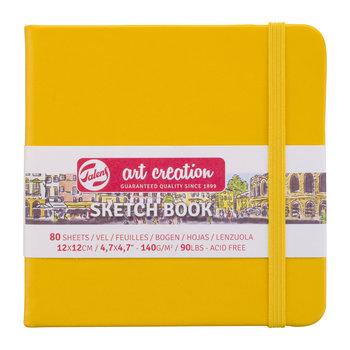 TALENSARTCREATION Sketchbook Pastel 12x12cm 140g 80 feuilles jaune d'or