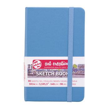 TALENSARTCREATION Sketchbook Pastel 9x14cm 140g 80 feuilles bleu lac