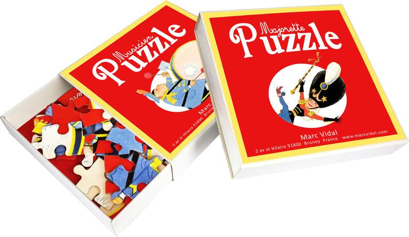 MARC VIDAL 4 Jolis Puzzles Cirque