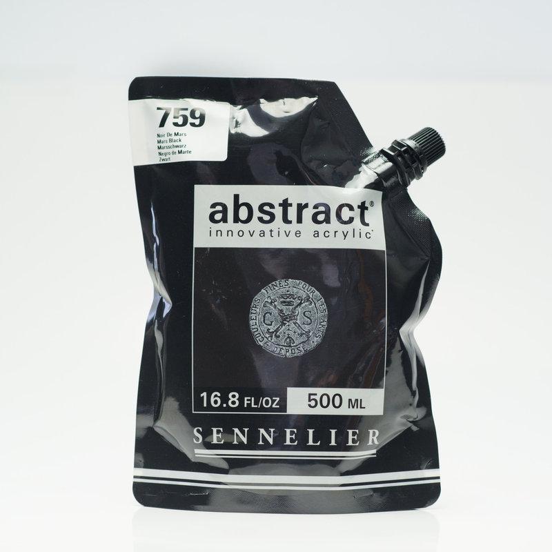 SENNELIER Acrylique Abstract 500ml Noir de Mars