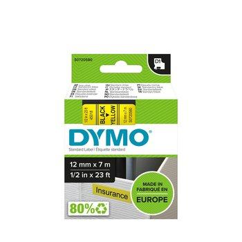 DYMO RUBAN D1 12mm x 7m - Noir sur Jaune