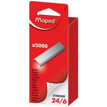 MAPED Boîte de 5 000 agrafes 24/6