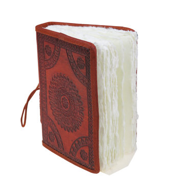 SUPPLEMENT D'A.M AUTHENTICS carnet cuir 10x15 cm parchemin Camel