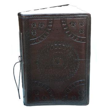 SUPPLEMENT D'A.M AUTHENTICS carnet cuir 13 x 18 cm parchemin