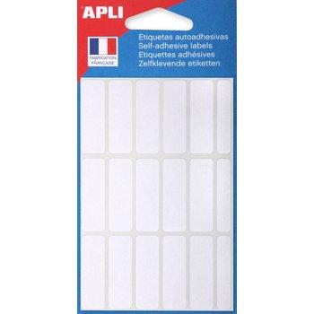 APLI Etiquettes blanches 12x38 mm 105 unités