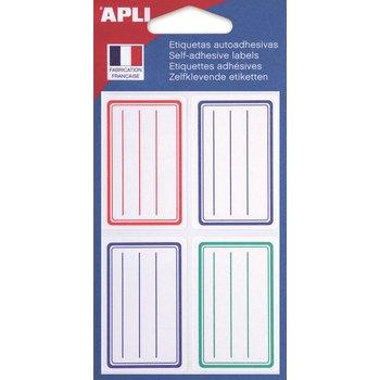 APLI Etiquettes scolaires 36x56 mm 24 unités