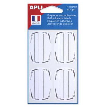 APLI Etiquettes scolaires 55x37 mm 20 unités