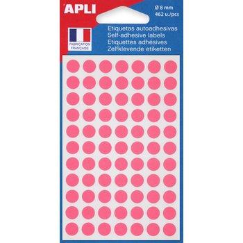 APLI Pastilles rose Ø 8 mm 462 unités