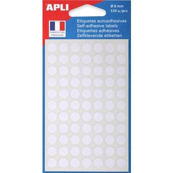 APLI Pastilles blanches Ø 8 mm 539 unités