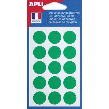 APLI Pastilles verte Ø 19 mm 90 unités