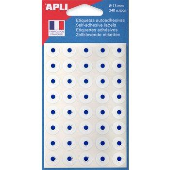 APLI Œillets blanc Ø 13 mm 240 unités