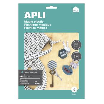 APLI Plastique magique A4 inkjet 4 feuilles