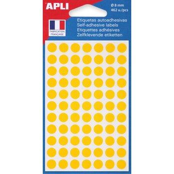 APLI Pastilles jaune Ø 8 mm 462 unités