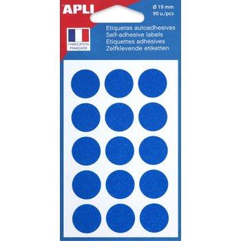 APLI Pastilles bleu Ø 19 mm 90 unités