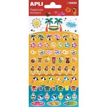 APLI Stickers Hawaï 1 feuille