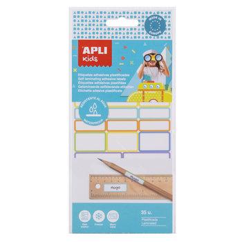 APLI Etiquettes plastifiées adhésives 35 unités