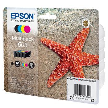 """EPSON Multipack """"Etoile de Mer"""" 603 Ink"""