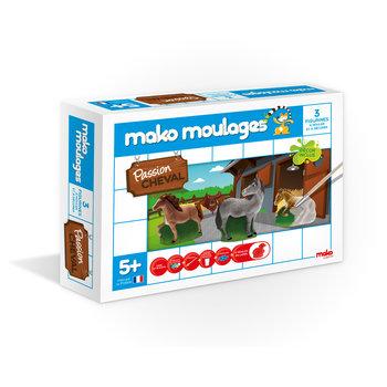 MAKO MOULAGES Chevaux - Coffret 3 moules