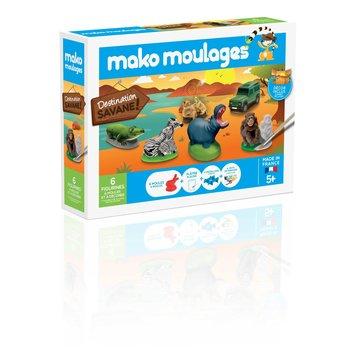 MAKO MOULAGES Destination Savane - Coffret 6 moules