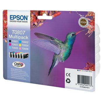 """EPSON Multipack """"Colibri"""" T0807 Claria Photographic Ink"""