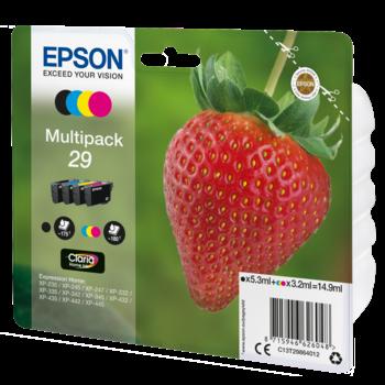 "EPSON Multipack ""Fraise"" 29 - Encre Claria Home"