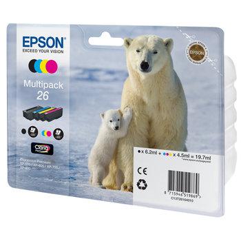 """EPSON Multipack """"Ours Polaire"""" 26 Claria Premium MP"""