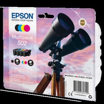 "EPSON Multipack ""Jumelles"" 502 - Encres DURABrite Ultra"