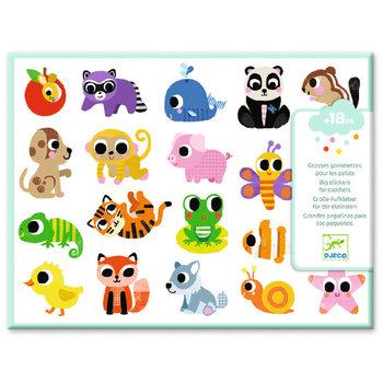 LOVELY PAPER Stickers pour les petits  Bébés animaux