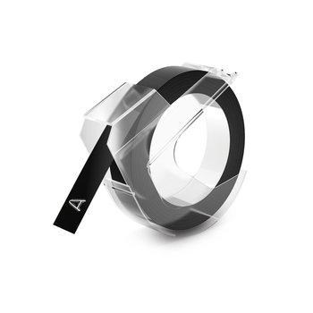 DYMO Ruban de Marquage 3D 9 mm x 3 m - Blanc sur Noir