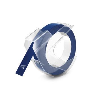 DYMO Ruban de Marquage 3D 9 mm x 3 m - Blanc sur Bleu
