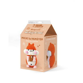 GRAINE CREATIVE Kit Minigurumi Hamster