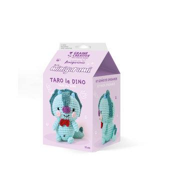 GRAINE CREATIVE Kit Minigurumi Dinosaure Taro 100 Mm