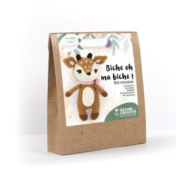 GRAINE CREATIVE Kit Crochet Biche 170 Mm