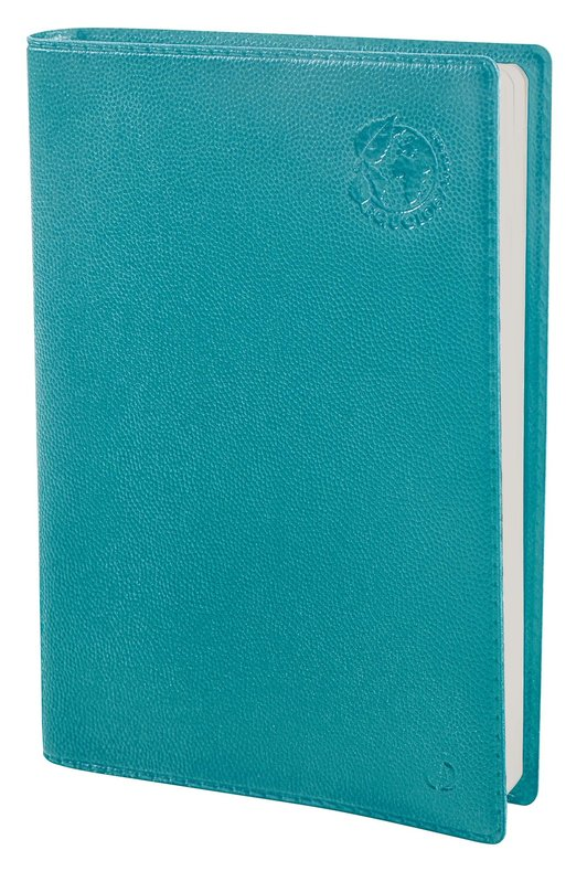 QUO VADIS Agenda Civil Affaires recyclé Equology rep semainier 10x15cm bleu