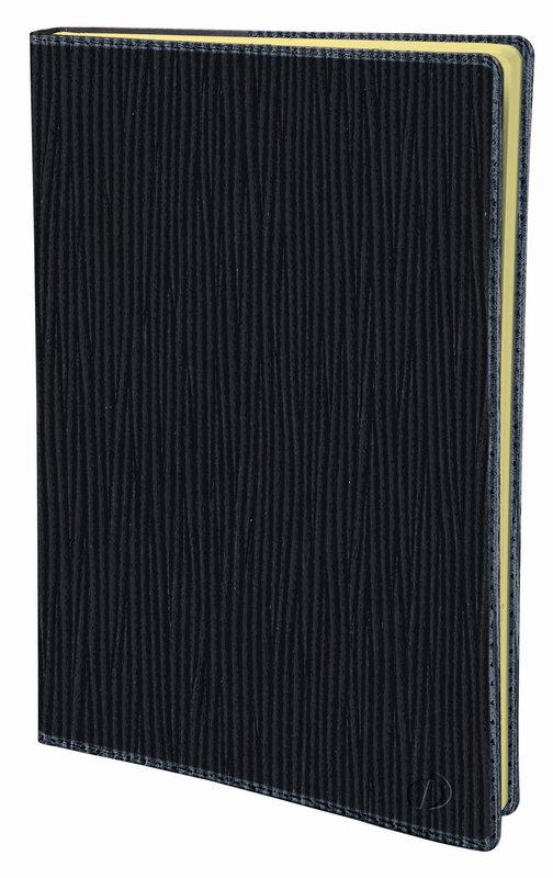 QUO VADIS Agenda Civil Randonnée Prestige Sahara rep semainier 9x12,5cm noir