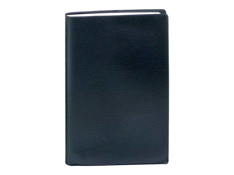 QUO VADIS Agenda Civil Vanolin recettes/dépenses journalier 13x21cm élastique noir