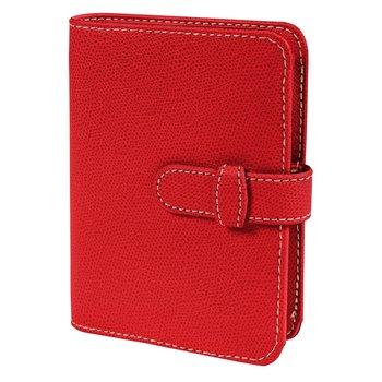 QUO VADIS Organiseur agenda Timer 17 rep semainier 16 mois Club Prestige 10x17cm Rouge