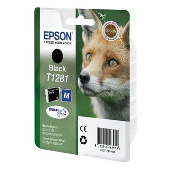 """EPSON Cartouche """"Renard"""" T1285 - Encre DURABrite Ultra Noir"""