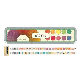 CAVALLINI Set de 10 Crayons Vintage + 1 Taille Crayon Vintage Palette de Couleurs