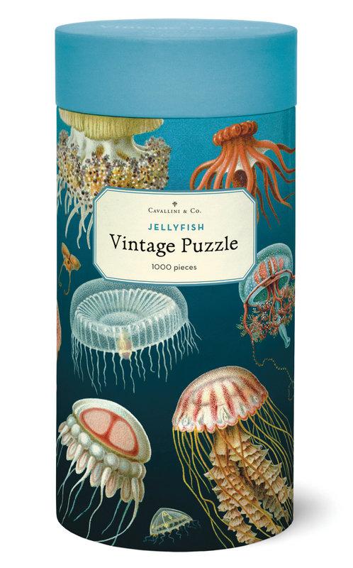 CAVALLINI Puzzle 1000 pièces 55x70cm Méduses