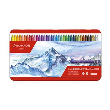 CARAN D'ACHE Neocolor® II - Boite métal à 84 couleurs
