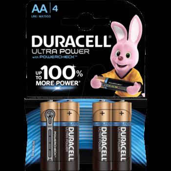 DURACELL Duracell Ultra AA (Pack de 4)
