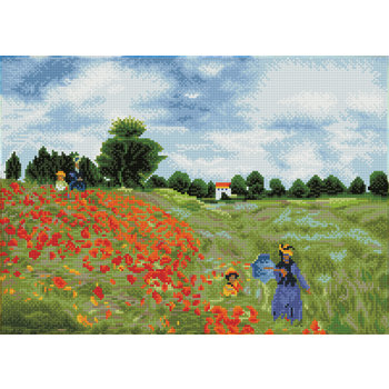 DIAMOND DOTZ Kit DIAMOND DOTZ® Champ de coquelicots (Monet)