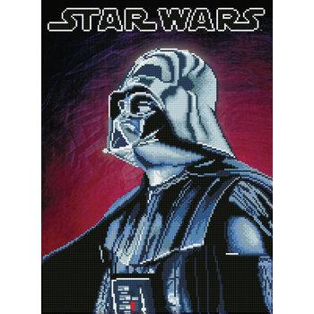 DIAMOND DOTZ Kit Star Wars DARK VADOR par DIAMOND DOTZ®